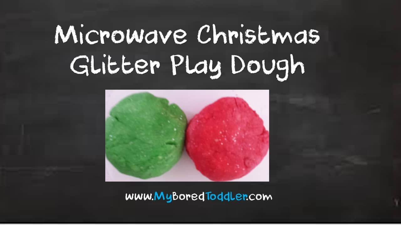 Microwave Play Dough