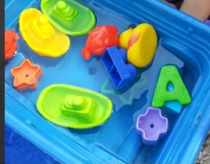 water play toddler activity