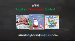 Win a toddler Christmas book pack
