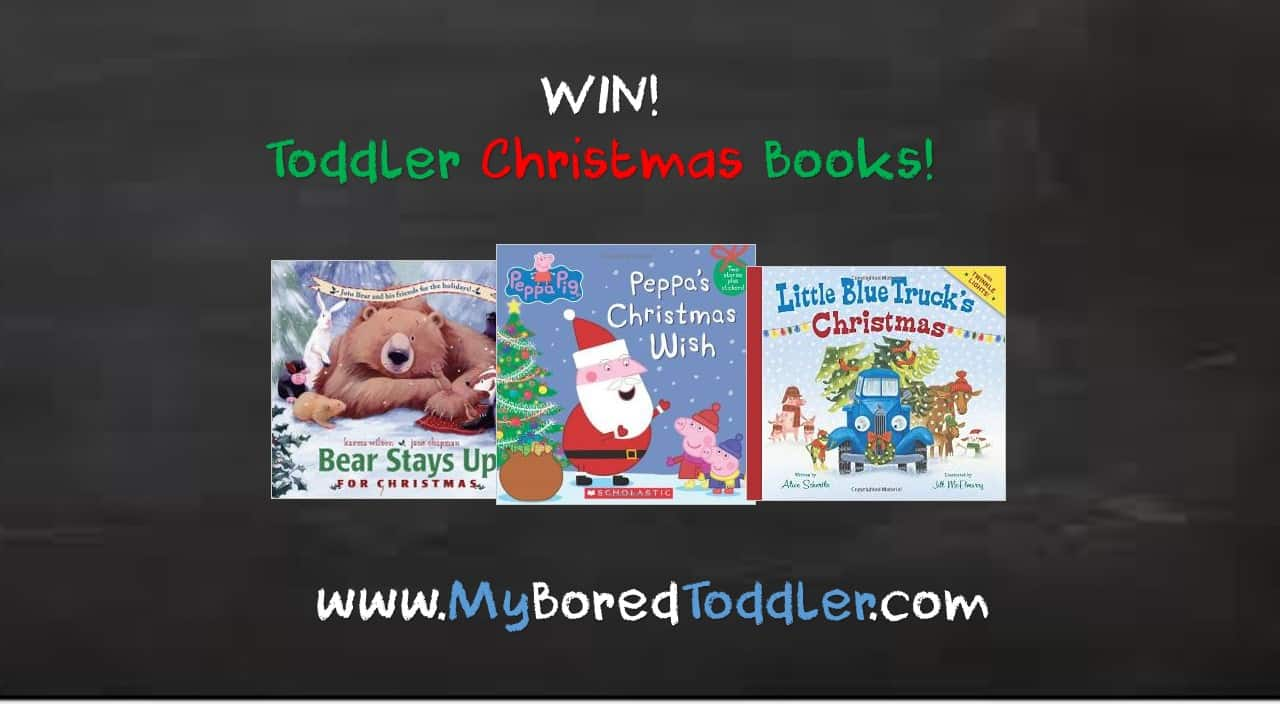 Win toddler Christmas books