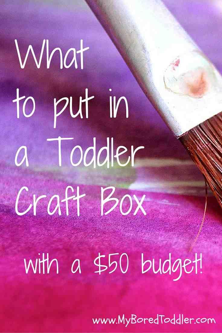 toddler craft box ideas