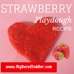 playdough recipe strawberry