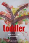 autumn fall tree toddler craft