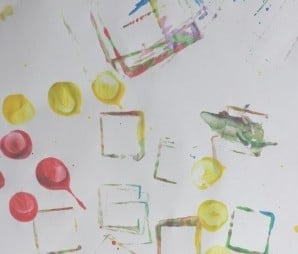 toddler painting ideas block painting