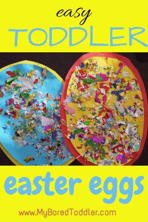 Easter Egg Toddler Craft My Bored Toddler