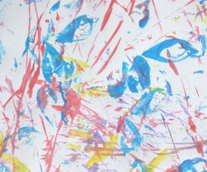 toddler painting ideas leaves