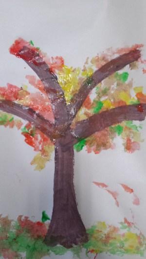 fall toddler craft