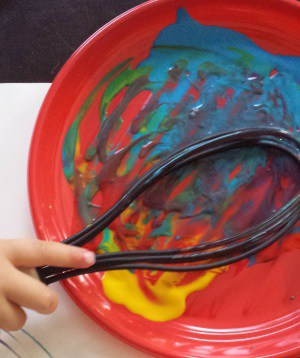 toddler painting ideas whisk