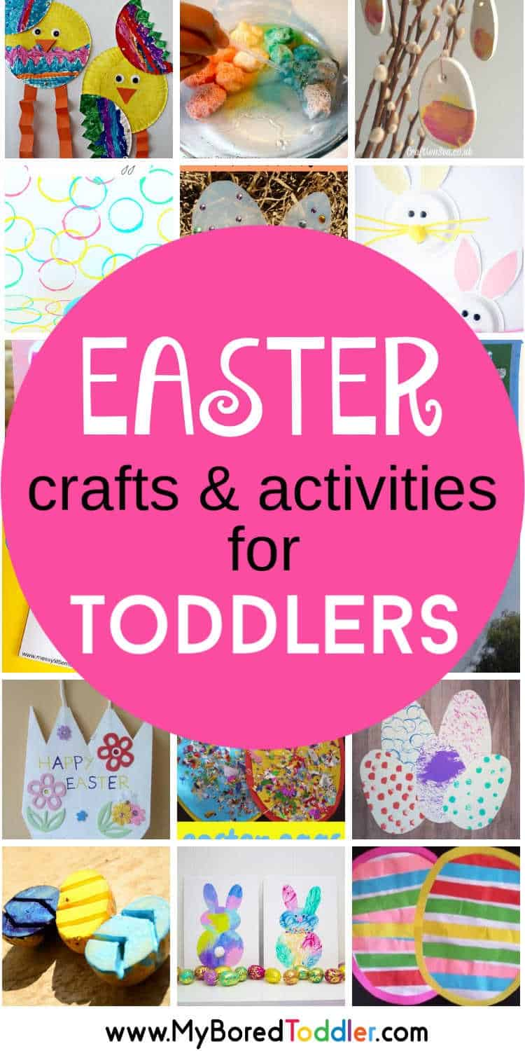Easter Ideas for Toddlers - crafts and activities pinterest