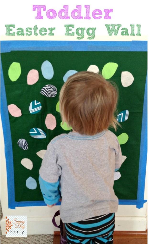 Toddler Easter Egg Wall