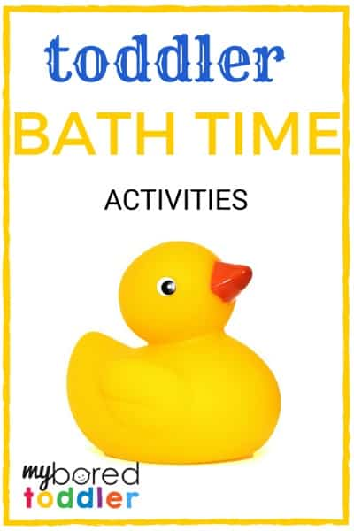 toddler activities bath time