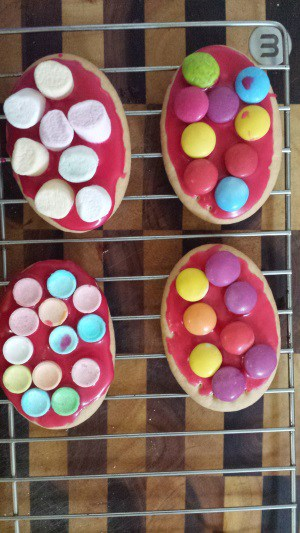 Toddler easter biscuits