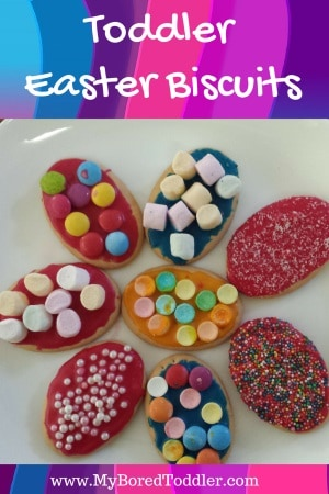 Toddler Easter Biscuits From My Bored