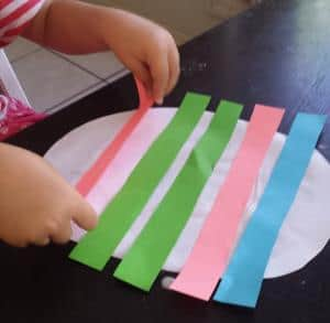easter toddler craft