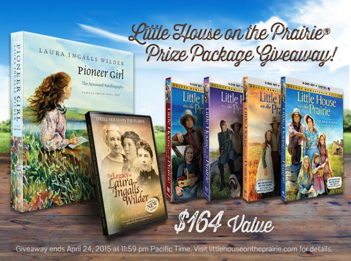 Win a Little House on the Prairie Prize Pack