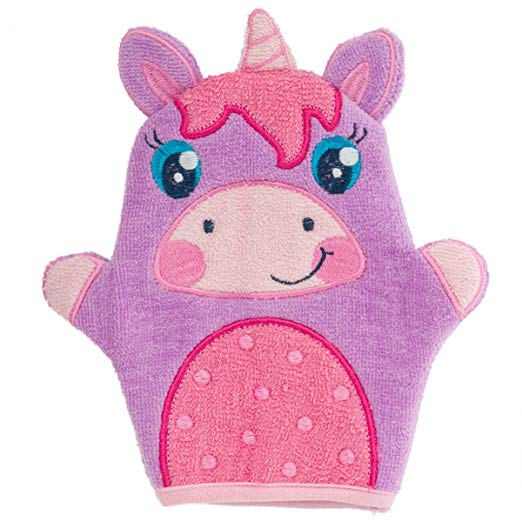washcloth puppets for toddler bath time