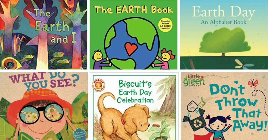 Earth Day Books for Toddlers