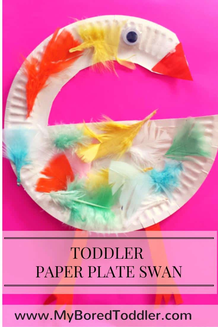 paper plate crafts for toddlers swan  sc 1 st  My Bored Toddler & Paper Plate Crafts for Toddlers - Swan - My Bored Toddler