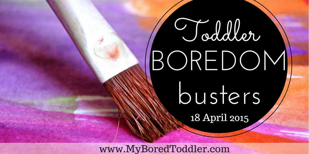 Toddler Boredom Busters #1
