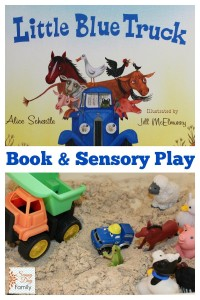 activities for toddlers - little blue truck