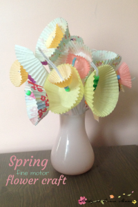 toddler activities - spring flower craft