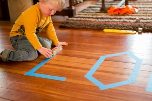toddler activities tracing with objects