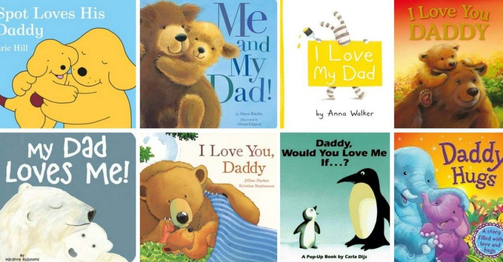 Best Books for Toddlers about Dad!