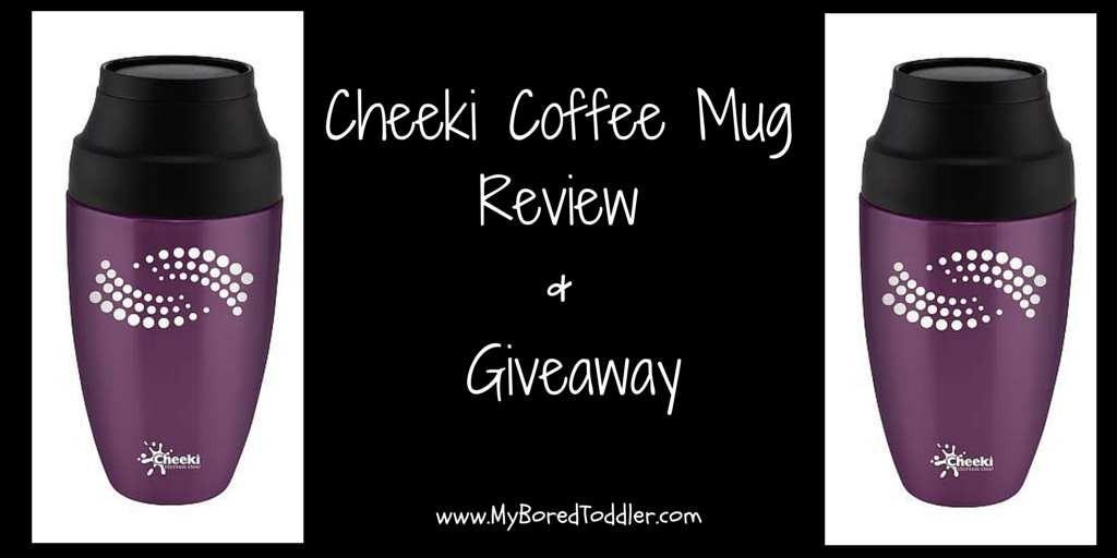 Cheeki Coffee Mug Review & Giveaway