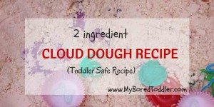 cloud dough recipe for toddlers