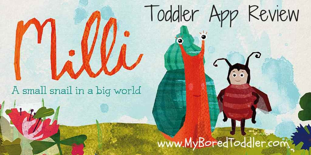 Toddler App Review – Milli the Snail