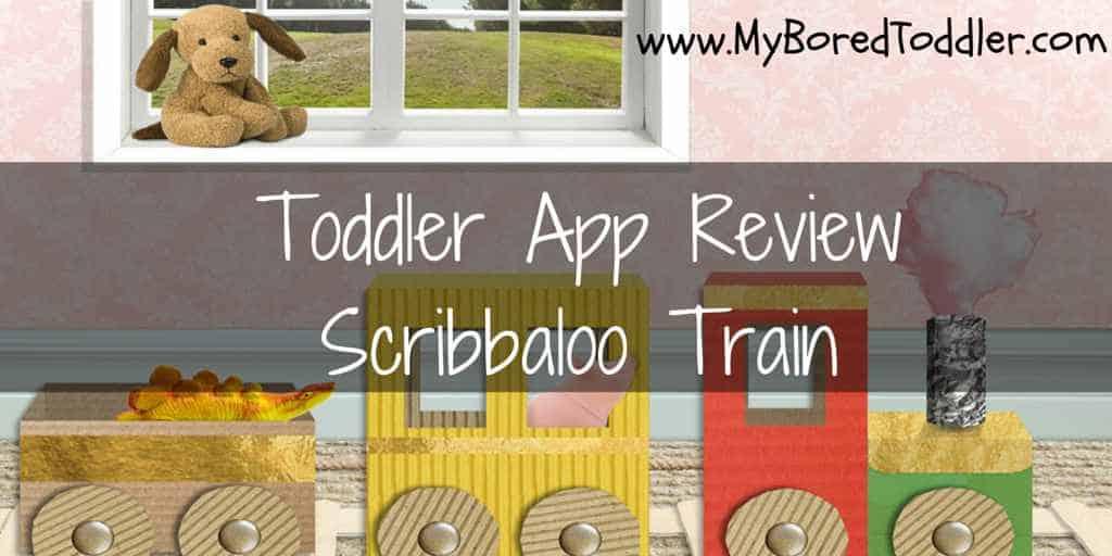 Toddler App Review – Scribbaloo Train