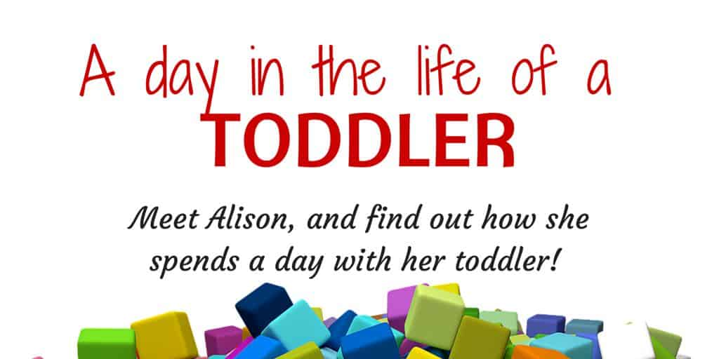 A day in the life of a toddler Alison
