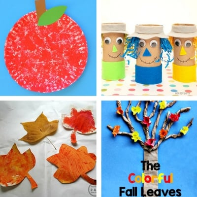 Autumn crafts for toddlers