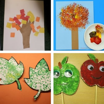 autumn craft ideas for toddlers