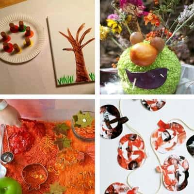 autumn fall crafts toddlers