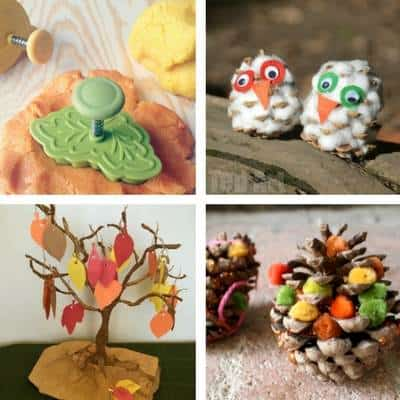 Crafts for toddlers for Autumn and Fall
