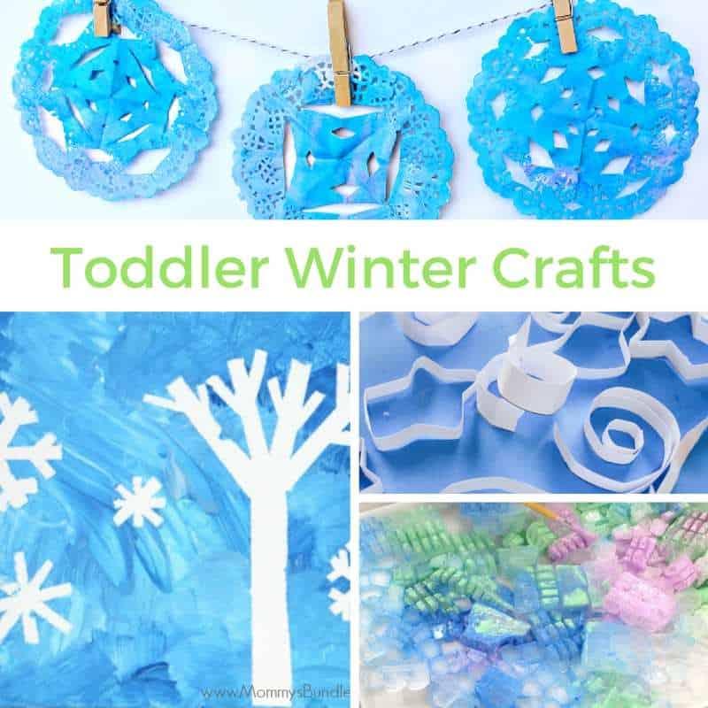 Toddler Winter Crafts
