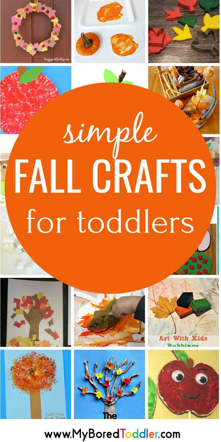 easy fall crafts for toddlers pinterest