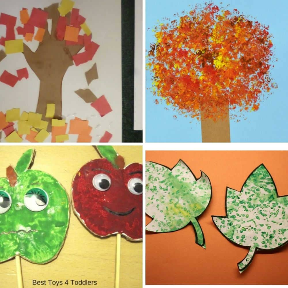 fall craft ideas for toddlers and preschoolers
