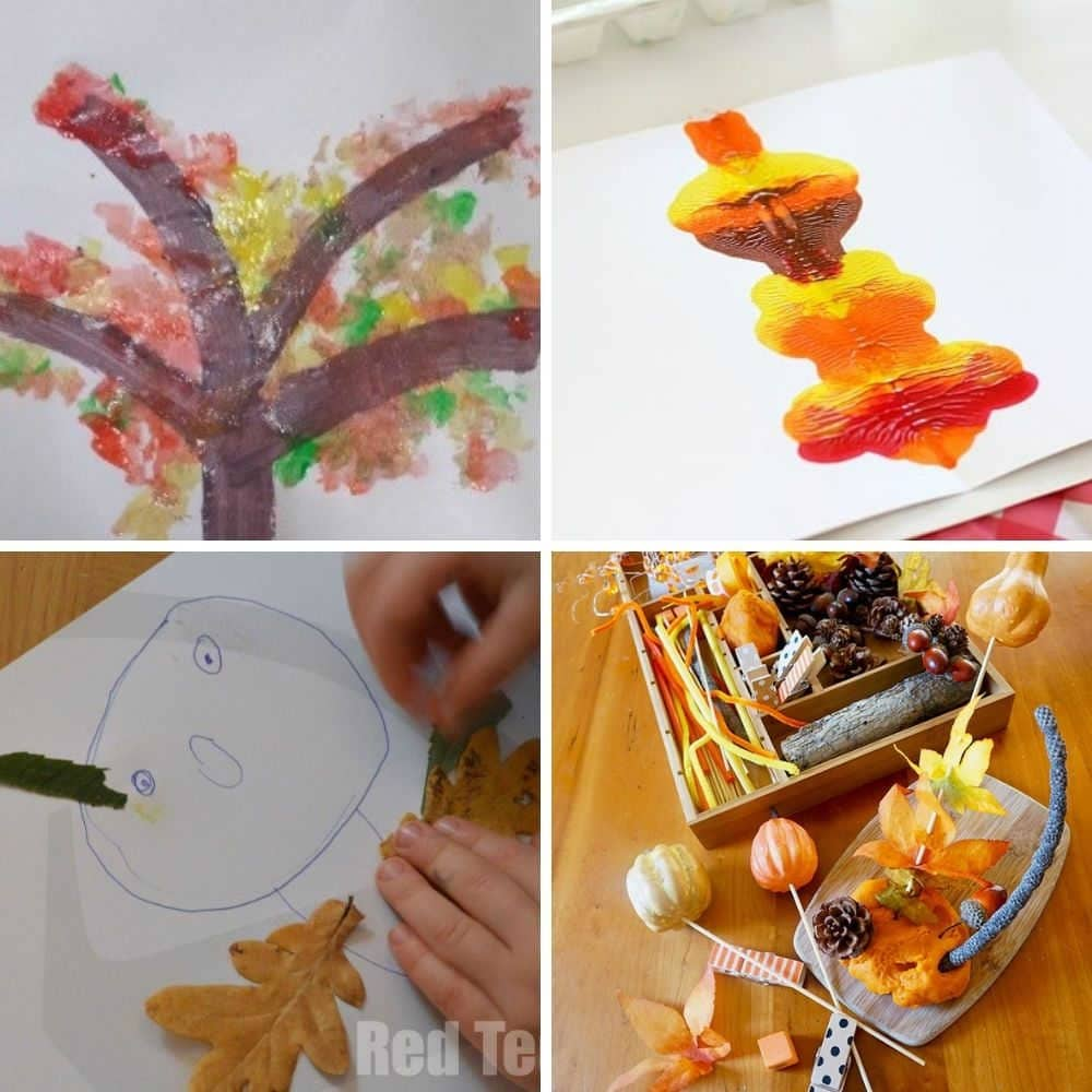 fall crafts for toddlers and preschoolers easy fall craft ideas for toddlers