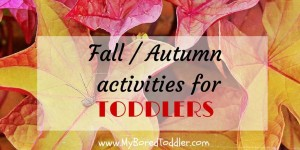 fall crafts for toddlers feature