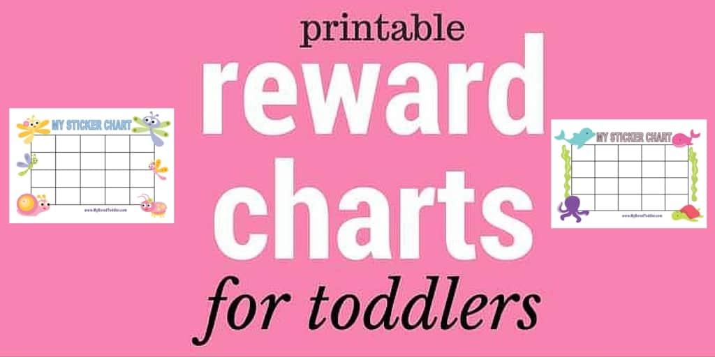 Sticker reward chart - Printable Reward Charts My Bored Toddler