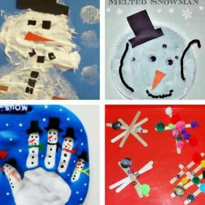 toddler winter crafts, ideas and activities 7