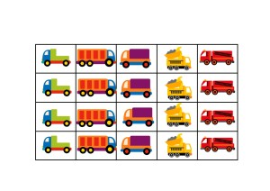truck printable reward chart 2