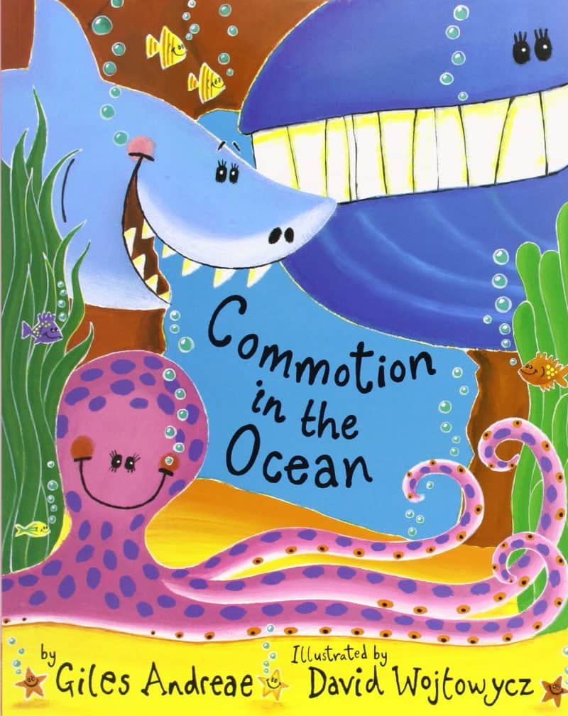 commotion in the ocean underwater books for toddlers