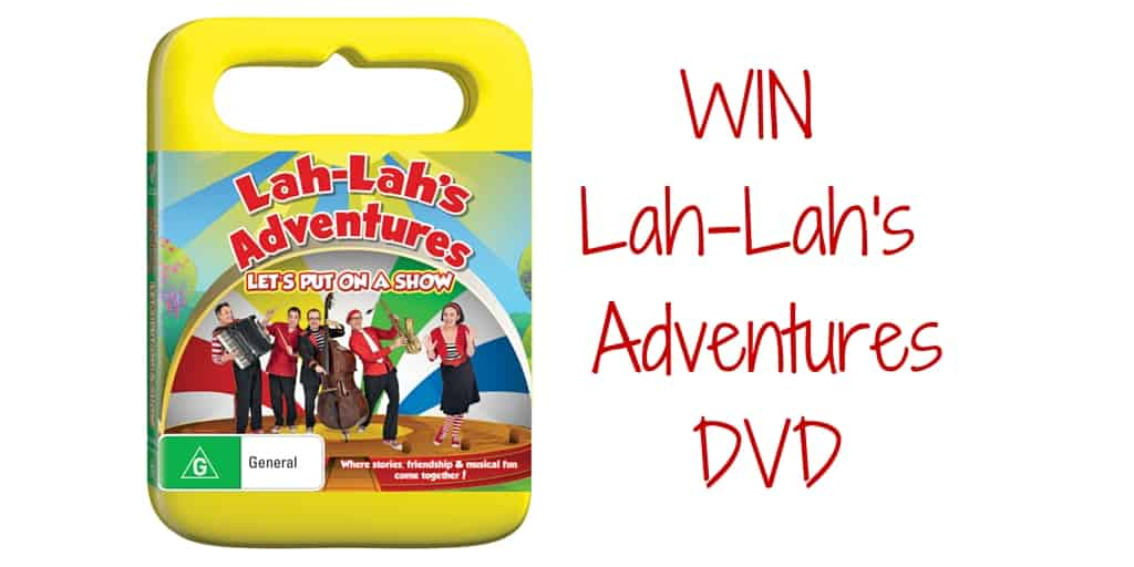 Win Lah-Lah's Adventures DVD