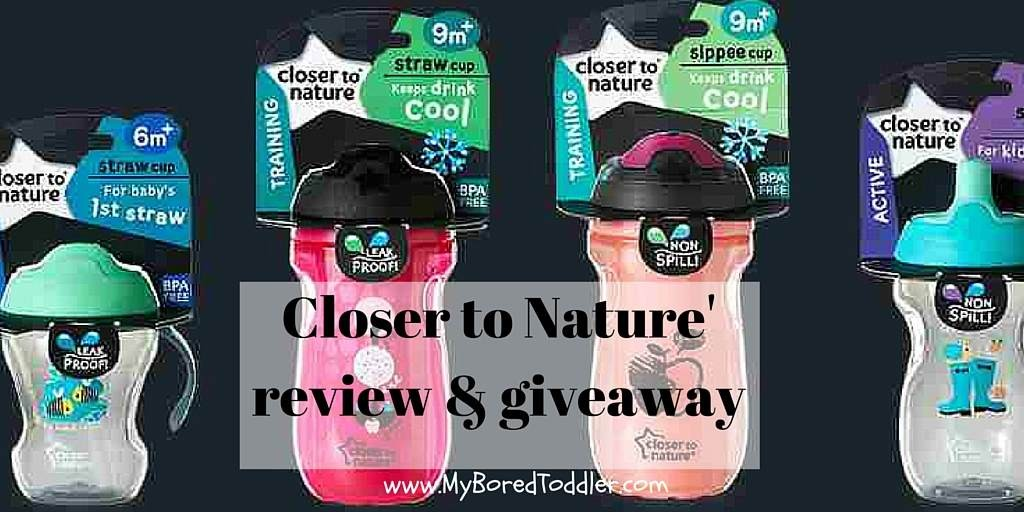 Closer To Nature – no spill cup review & giveaway