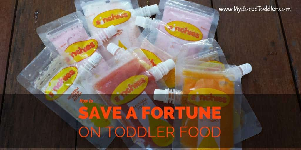 how to save a fortune on toddler food
