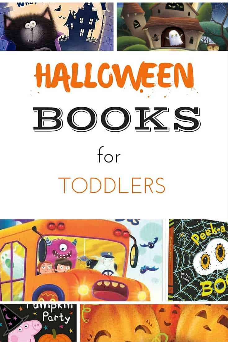 Halloween books for toddlers pinterest