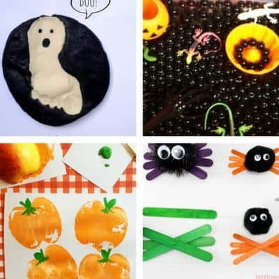 Halloween crafts for toddlers image 4
